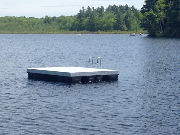 Smith Swim Float in Maine | Sold and Installed by DockGuys.com